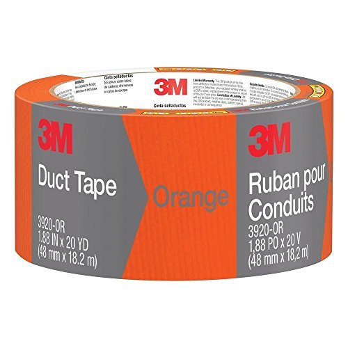 3M 3920-OR 20 Yards Duct Tape - Orange
