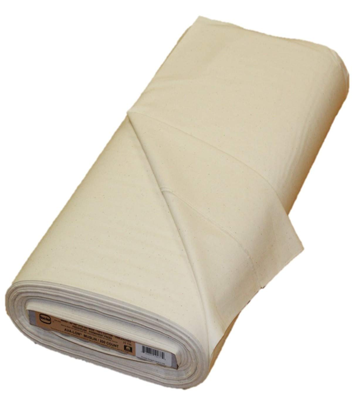 Rockland 86230 200 Count Muslin, Unbleached/Natural