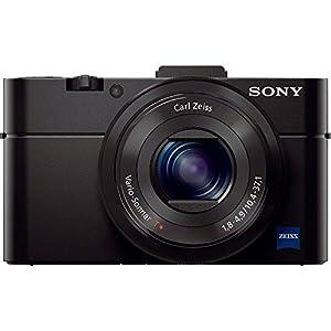 Sony Cyber-shot DSC-RX100 II 20.2 MP Digital Camera - Black + 64GB SDXC Memory Dual Battery Kit + Accessory Bundle from Sony