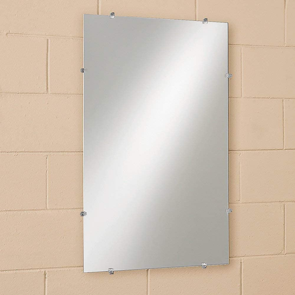 "See All - G1218 Frameless Glass Mirror 12"" x 18"""