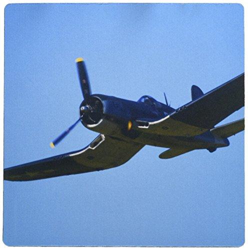 3dRose Goodyear Corsair Fg-1D Whispering Death Bomber - AU02 DWA7170 Mouse Pad, 8