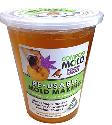 ComposiMold FC40 Reusable Molding Material, Food Molds, 40-Ounce by ComposiMold