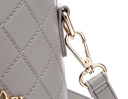 Shells Mini Wild Handbags Package Korean Simple of Black Shoulder Tide Backpack Version The Beige Color Ladies 7AqdnRwv