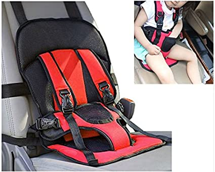 Saiyam Multi Function Adjustable Baby Car Cushion Seat With Safety Belt