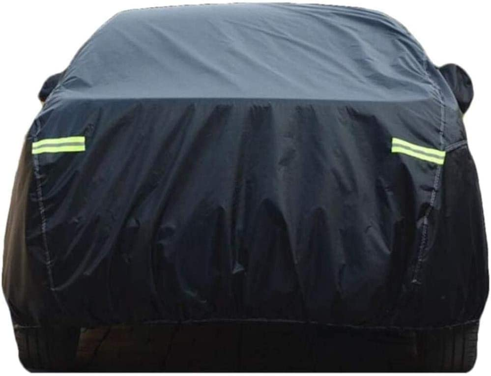 Compatible avec Fiat Special Sunscreen Rainproof Heat Insulation Car Clothing Cover Sunshade DOBLO-Abarth Doblo