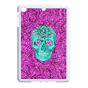 New Print DIY Phone Case for Ipad Mini - Girly Sugar Skull Personalized Cover Case JZQ-903053