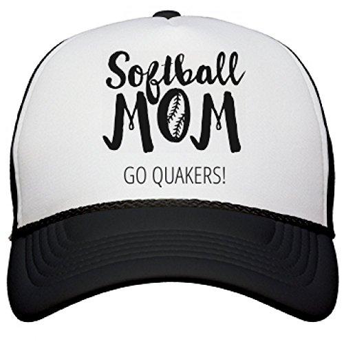 softball-mom-go-quakers-snapback-mesh-trucker-hat