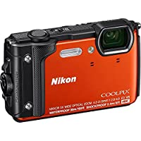 Nikon COOLPIX W300, Orange silicon jacket , Orange (851071) (Australian warranty)
