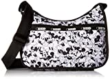 LeSportsac Classic Hobo Handbag, Mickey Loves Minnie