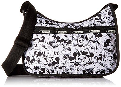 LeSportsac Classic Hobo Handbag, Mickey Loves Minnie by LeSportsac