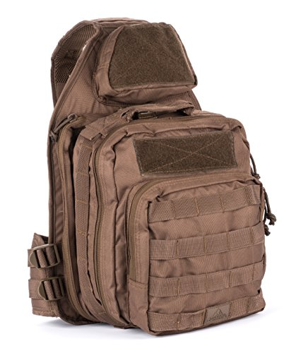 Red Rock Outdoor Gear Recon Sling Pack, Dark Earth ()