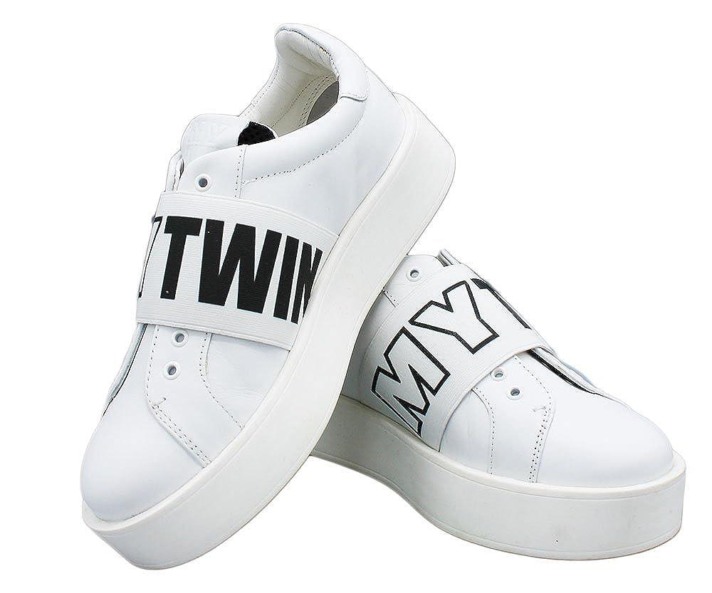 Twin Set Damen Turnschuhe Turnschuhe Turnschuhe Weiß Bianco fc1170