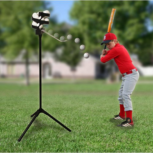 Heater Sports Scorpion Soft Toss Pitching Machine With 8 Hour Battery by Heater Sports