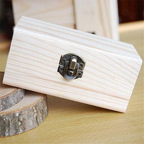 BZM-ZM (:ナチュラル、サイズ:10X6X5CMカラー)あなたの油の安全を守るための品質木製のエッセンシャルオイルストレージボックスベスト