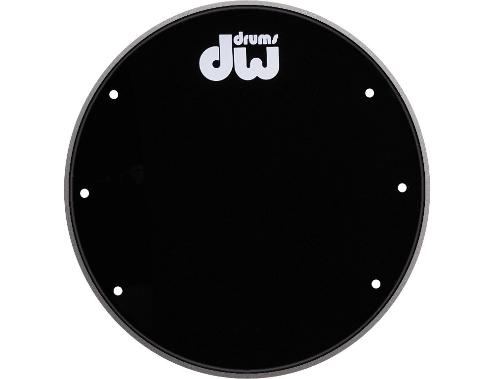 DW Front Ported Bass Drumhead with Logo 22 in. Drum Workshop DRDHGB22K