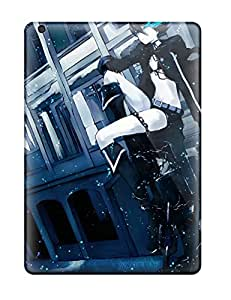 High Impact Dirt/shock Proof Cases Covers For Ipad Air (black Rock Shooter Anime)