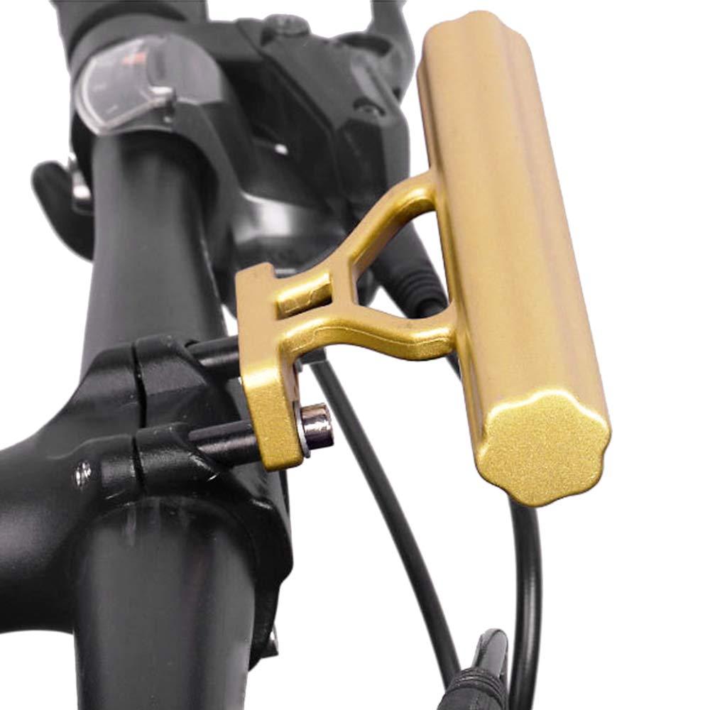 Leepesx Prolunga per Manubrio della Bici Supporto in Alluminio per Staffa di prolunga del Manubrio della Bici in Lega di Alluminio