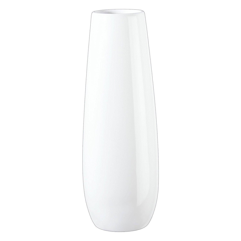 ASA Ease Vaso da Fiori, Decorazione Casa, Ceramica, Bianco, A 32 cm, 91032005 ASA Selection GmbH