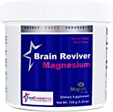 (US) Brain Reviver Magnesium 60 servings Natural Mixed Berry Powder Non GMO Gluten Free Brain and Cognitive Health Restore Brain Function cGMP