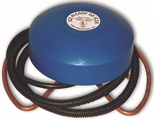 Farm Innovators Model H-4815 Economical Floating De-Icer For Metal Tanks, (Floating Tank De Icer)