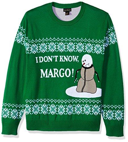Alex Stevens Mens Know Margo Ugly Christmas Sweater
