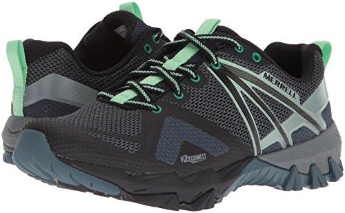 Walking ladies Shoes Flex Mesh Breathable Hybrid Negro Womens Mqm Merrell 08Bq5Hnx