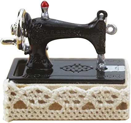 Simulation Sewing Machine Dollhouse Miniature 1:12 Scale Doll Furniture Craft