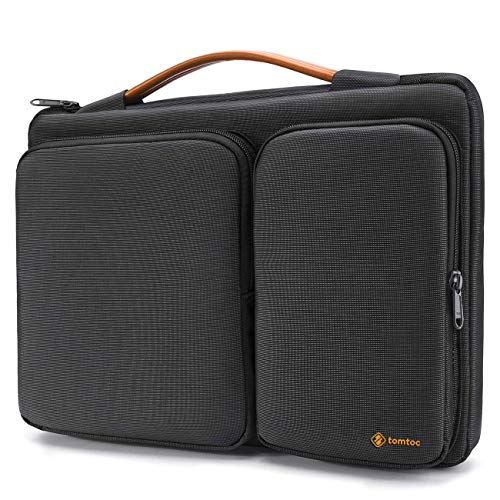 tomtoc 360° Protective Laptop Case Sleeve Bag Compatible with 15-15.6 Inch Acer Aspire E 15 and HP Dell Asus Thinkpad Notebooks Ultrabooks, Spill-Resistant, Support up to 15.2 x 10.4 in