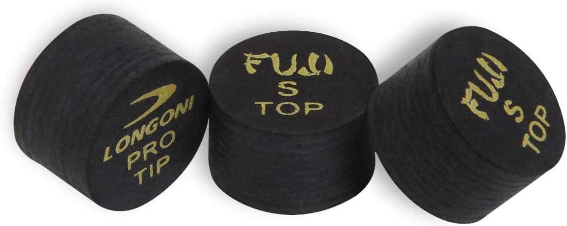 Soft Black 1 pc Longoni Fuji Pool Billiard CUE TIP