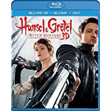 Hansel & Gretel: Witch Hunters, Unrated Cut (Blu-ray 3D / Blu-ray / DVD / Digital Copy + UltraViolet) (2013)