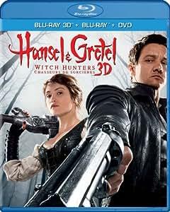 Hansel & Gretel: Witch Hunters, Unrated Cut (Blu-ray 3D / Blu-ray / DVD / Digital Copy + UltraViolet)