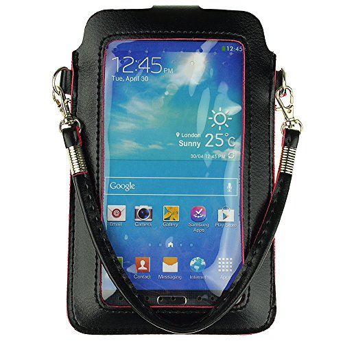 Cheap Wallet Cases PU Leather Mobile Phone Bag Wallet Pouch Case for Samsung Galaxy Mega..