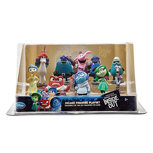 Disney / Pixar Inside Out Inside Out Deluxe Figure Playset (Inside Disney Out)