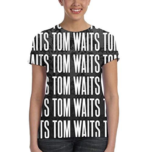 (Tom Waits Womens Fitness T-Shirt XXL Black)