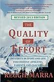 The Quality of Effort, Reggie Marra, 0962782858