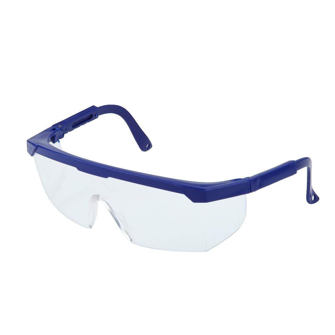 Seguridad en el Trabajo Gafas de protecci/ón para los Ojos Gafas Laboratorio Pintura en Polvo Dental Antial Splash Gafas a Prueba de Polvo para Viento