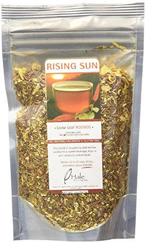 Hale Tea Rooibos, Rising Sun, 2-Ounce