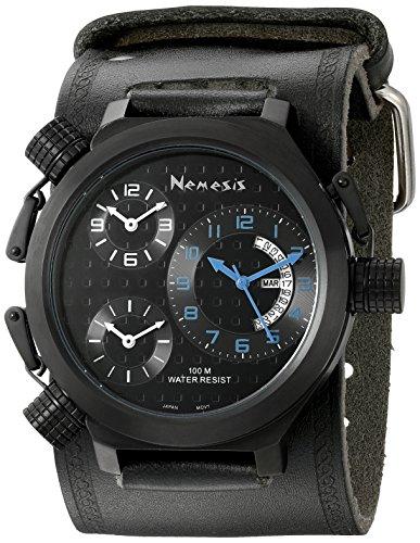 Nemesis Men's KIN080KL Elegant 3-Zone Watch
