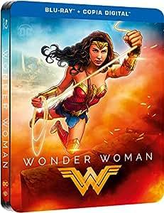 Wonder Woman Blu-Ray Dc Illustrated Steelbook [Blu-ray]