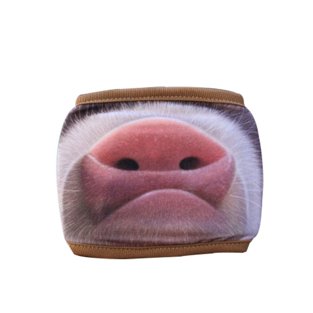 funie Outdoor Cycling Anti Dust Windproof Half Face Pig Nose Mouth Cosplay Mask 1#
