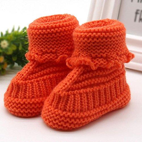 Handarbeit Orange Kleinkind An Neugeborenen Sandalen Chshe Schuhe
