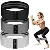 Resistance Bands for Legs and Butt, JR INTL Fabric Workout Bands, Exercise Resistance Bands, Women/Men Stretch Exercise…