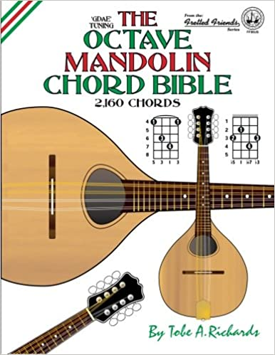 Amazon The Octave Mandolin Chord Bible Gdae Standard Tuning