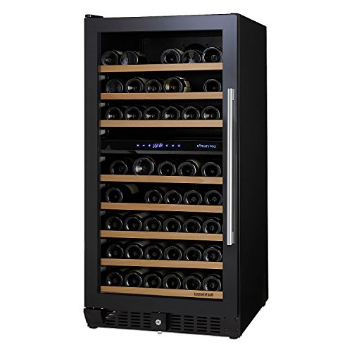 N'FINITY PRO M Dual Zone Wine Cellar Left Hinge - Full Glass Door