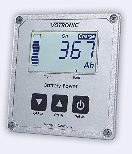 Votronic LCD Batterie-Computer S200 inkl. 200A Mess-Shunt 12/24V