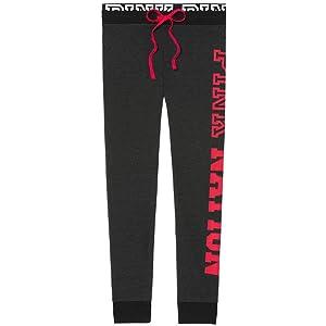 cfd54c9624f6a Victoria's Secret PINK Jogger Pants Grey MARL, XSmall at Amazon ...