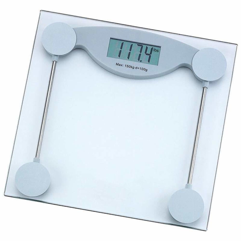 Amazon scale bathroom - Amazon Com Healthsmart Elscale3 Healthsmart Glass Electronic Bathroom Scale Health Personal Care