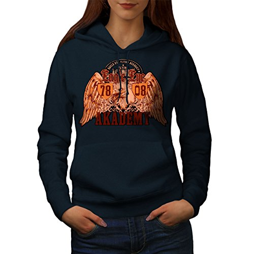 wellcoda Eagle Eye Academy Womens Hoodie, Academy Hooded for sale  Delivered anywhere in USA