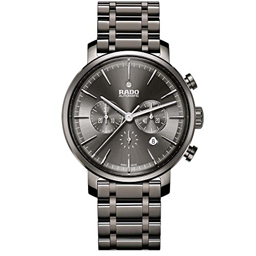 Rado Diamaster New R14076112 45mm Automatic Ceramic Case Grey Ceramic Synthetic Sapphire Men's Watch