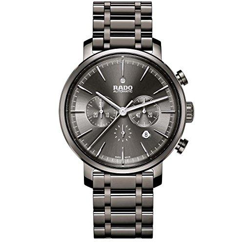 Rado Diamaster New R14076112 45mm Automatic Ceramic Case Grey Ceramic Synthetic Sapphire Men's Watch